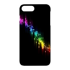 Illustrations Black Colorful Line Purple Yellow Pink Apple Iphone 7 Plus Hardshell Case
