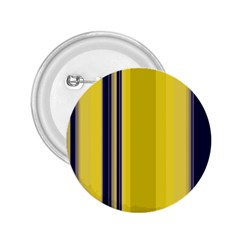 Yellow Blue Background Stripes 2 25  Buttons by Simbadda