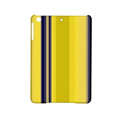 Yellow Blue Background Stripes Ipad Mini 2 Hardshell Cases by Simbadda