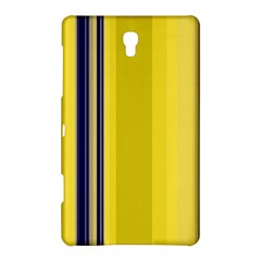 Yellow Blue Background Stripes Samsung Galaxy Tab S (8 4 ) Hardshell Case