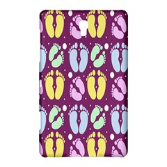 Baby Feet Patterned Backing Paper Pattern Samsung Galaxy Tab S (8 4 ) Hardshell Case