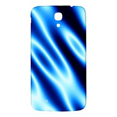 Grunge Blue White Pattern Background Samsung Galaxy Mega I9200 Hardshell Back Case