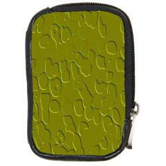 Olive Bubble Wallpaper Background Compact Camera Cases by Simbadda