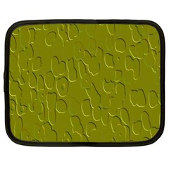 Olive Bubble Wallpaper Background Netbook Case (xl)