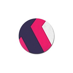 Pink Pattern Golf Ball Marker (10 Pack)