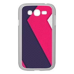 Pink Pattern Samsung Galaxy Grand Duos I9082 Case (white) by Simbadda