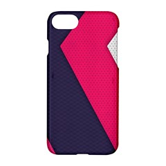 Pink Pattern Apple Iphone 7 Hardshell Case