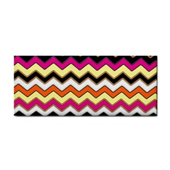Colorful Chevron Pattern Stripes Pattern Cosmetic Storage Cases by Simbadda