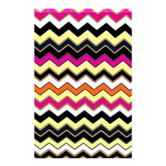 Colorful Chevron Pattern Stripes Pattern Shower Curtain 48  X 72  (small)  by Simbadda