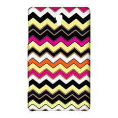 Colorful Chevron Pattern Stripes Pattern Samsung Galaxy Tab S (8 4 ) Hardshell Case  by Simbadda