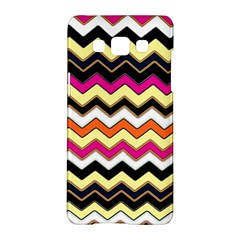 Colorful Chevron Pattern Stripes Pattern Samsung Galaxy A5 Hardshell Case