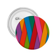 Colorful Lines Pattern 2.25  Buttons