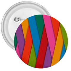 Colorful Lines Pattern 3  Buttons