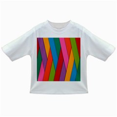Colorful Lines Pattern Infant/Toddler T-Shirts