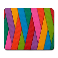 Colorful Lines Pattern Large Mousepads