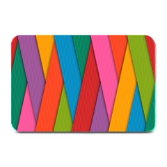 Colorful Lines Pattern Plate Mats