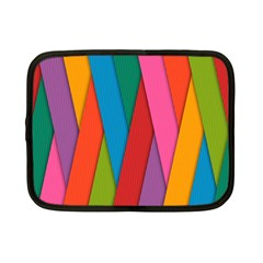 Colorful Lines Pattern Netbook Case (Small)