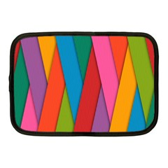 Colorful Lines Pattern Netbook Case (Medium)