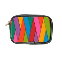 Colorful Lines Pattern Coin Purse