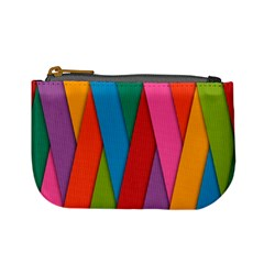 Colorful Lines Pattern Mini Coin Purses