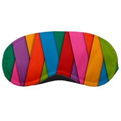 Colorful Lines Pattern Sleeping Masks