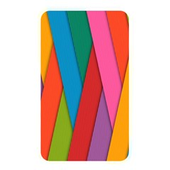 Colorful Lines Pattern Memory Card Reader