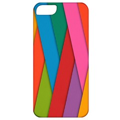 Colorful Lines Pattern Apple iPhone 5 Classic Hardshell Case