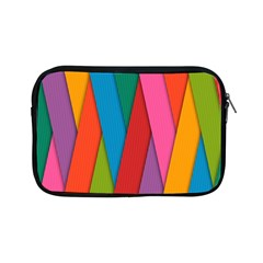 Colorful Lines Pattern Apple iPad Mini Zipper Cases