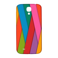 Colorful Lines Pattern Samsung Galaxy S4 I9500/I9505  Hardshell Back Case