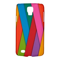 Colorful Lines Pattern Galaxy S4 Active