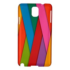 Colorful Lines Pattern Samsung Galaxy Note 3 N9005 Hardshell Case