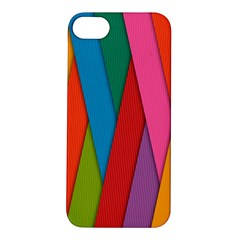 Colorful Lines Pattern Apple iPhone 5S/ SE Hardshell Case