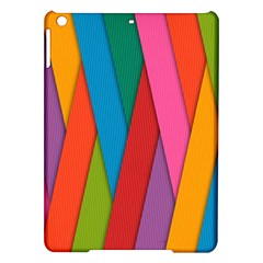 Colorful Lines Pattern iPad Air Hardshell Cases
