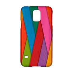 Colorful Lines Pattern Samsung Galaxy S5 Hardshell Case