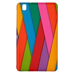 Colorful Lines Pattern Samsung Galaxy Tab Pro 8.4 Hardshell Case