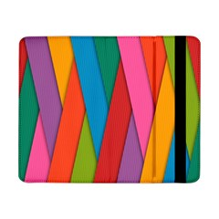 Colorful Lines Pattern Samsung Galaxy Tab Pro 8.4  Flip Case