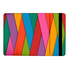 Colorful Lines Pattern Samsung Galaxy Tab Pro 10.1  Flip Case