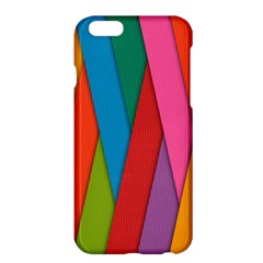 Colorful Lines Pattern Apple iPhone 6 Plus/6S Plus Hardshell Case