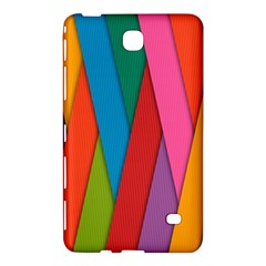 Colorful Lines Pattern Samsung Galaxy Tab 4 (7 ) Hardshell Case