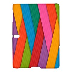 Colorful Lines Pattern Samsung Galaxy Tab S (10.5 ) Hardshell Case