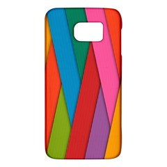 Colorful Lines Pattern Galaxy S6