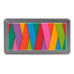 Colorful Lines Pattern Memory Card Reader (mini)