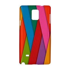 Colorful Lines Pattern Samsung Galaxy Note 4 Hardshell Case