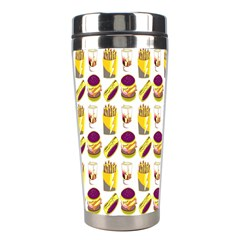 Hamburger And Fries Stainless Steel Travel Tumblers by Simbadda
