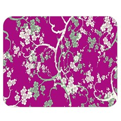 Floral Pattern Background Double Sided Flano Blanket (medium)  by Simbadda