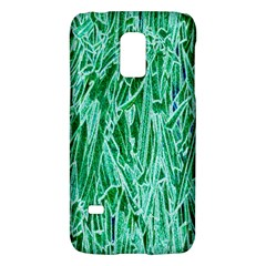Green Background Pattern Galaxy S5 Mini by Simbadda