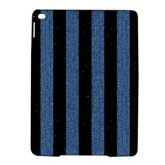 Stripes1 Black Marble & Blue Denim Apple Ipad Air 2 Hardshell Case by trendistuff