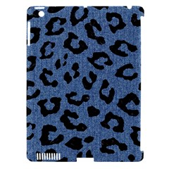 Skin5 Black Marble & Blue Denim Apple Ipad 3/4 Hardshell Case (compatible With Smart Cover) by trendistuff
