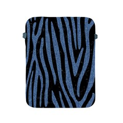 Skin4 Black Marble & Blue Denim (r) Apple Ipad 2/3/4 Protective Soft Case by trendistuff