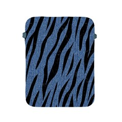 Skin3 Black Marble & Blue Denim (r) Apple Ipad 2/3/4 Protective Soft Case by trendistuff